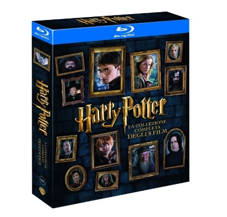 Harry potter collezione unica dvd completa blu ray