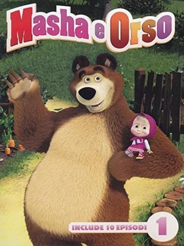 Masha e orso cartone animato dvd per bambini