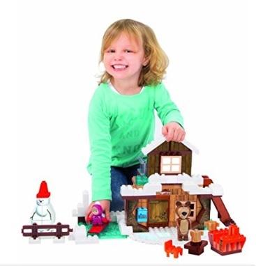 Masha e orso inverno giocattoli playbig