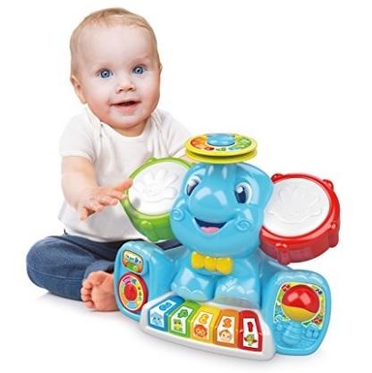 Giocattolo unico elefantino in concerto per bimbi