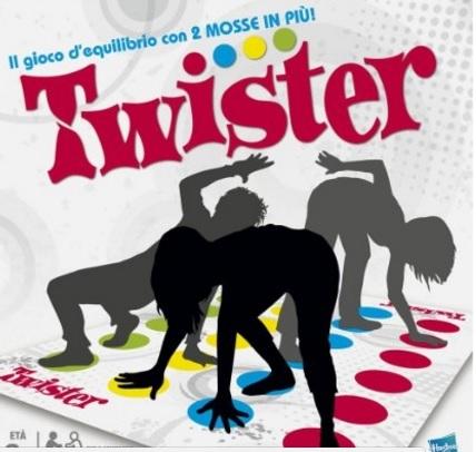 Giochi di società classici il famoso twister