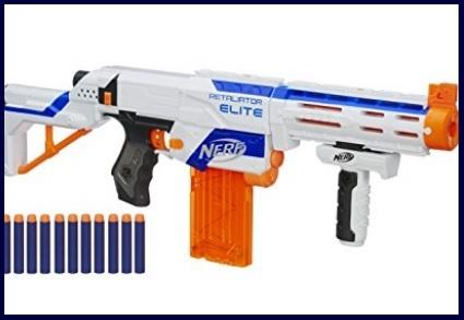 Pistola nerf spara macchine