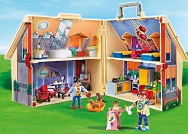 Casa Delle Bambole Portatile