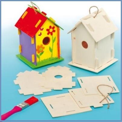 Costruisci casette per uccelli kit per bambini