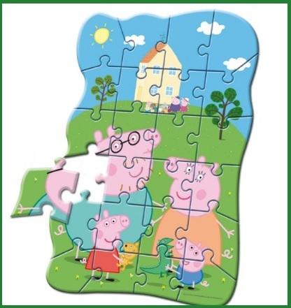 Puzzle Sagomato E Originale Di Peppa Pig