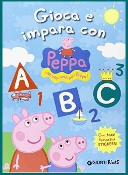 Libro completo per imparare con peppa pig