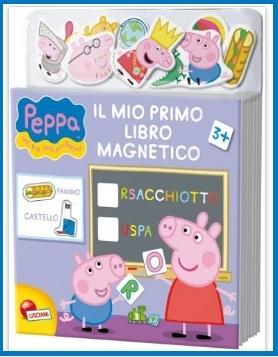 Libro magnetico di peppa pig