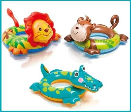 Salvagente per bambini per il mare a forma di animali