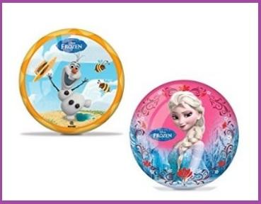 Palla di frozen per giocare al mare o in piscina