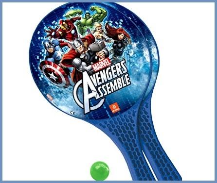 Racchette avengers con pallina giochi