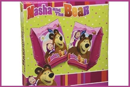 Braccioli per il mare di masha e orso