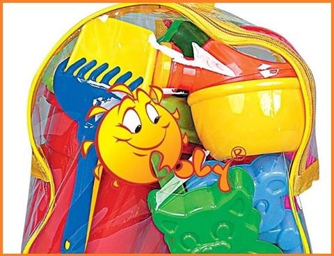 Giochi mare bambini con sacca