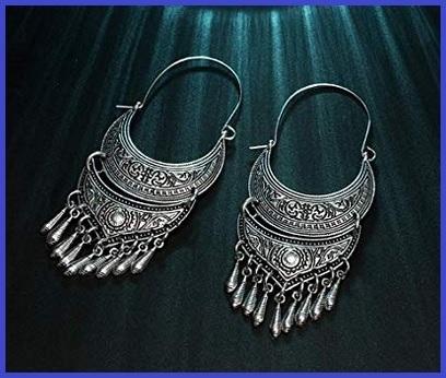 Gioielli etnici indiani argento