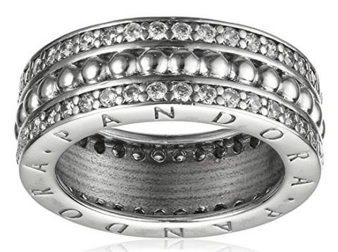 Anello donna in argento 9 carati pandora