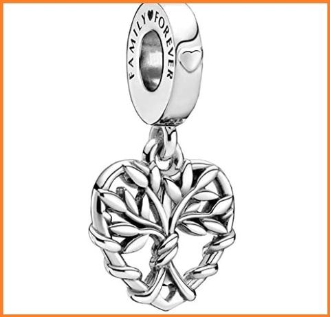 Pendente charms albero della vita argento pandora