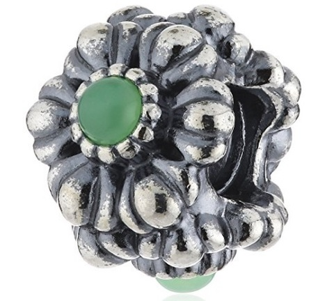 Pandora charms con pietra crisoprasio