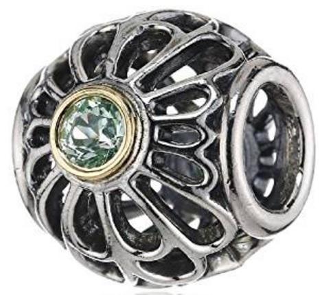 Pandora ciondolo argento sterling e pietra spinello
