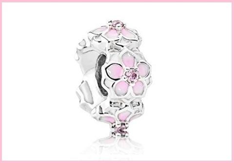 Pandora gemme e pietre charm zirconia