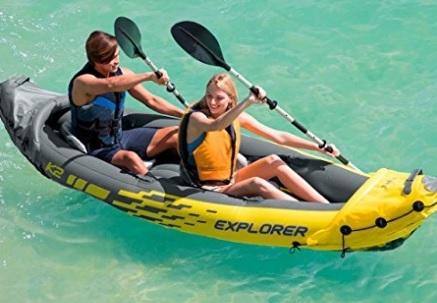 Canotto Explorer K2 Con Remi