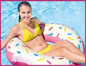 Gonfiabile salvagente ciambella per piscina