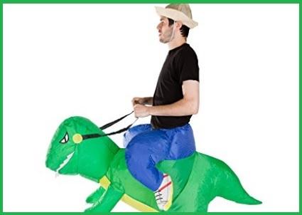 Costume da dinosauro gonfiabile