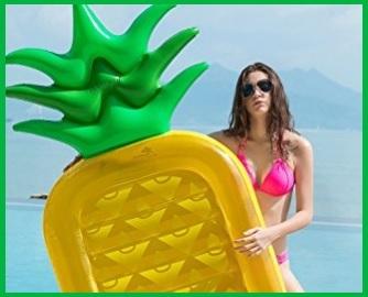 Gonfiabile Materassino A Forma Di Ananas