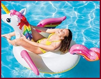 Gonfiabile cavalcabile piscina