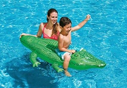 Gonfiabili piscina coccodrillo