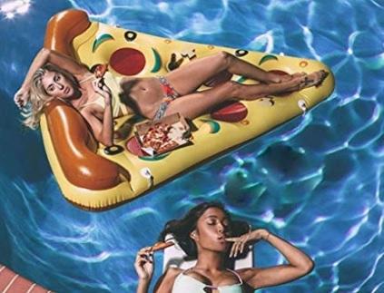 Gonfiabili pizza mare