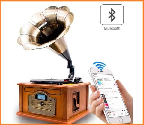 Grammofono Giradischi In Vinile