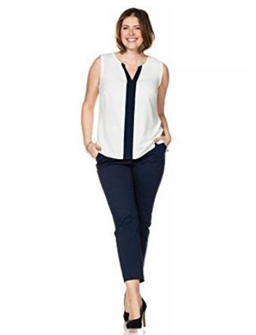 Pantaloni comodi ed eleganti con piega alla moda