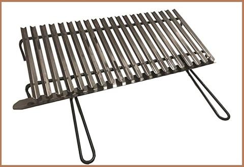 Graticola per barbecue acciaio inox