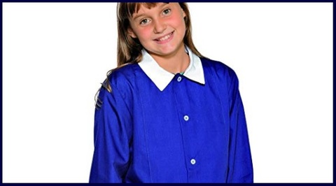 Grembiuli scuola blu bambina
