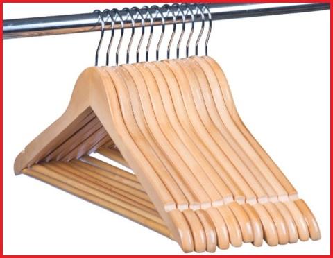 Grucce appendiabiti legno