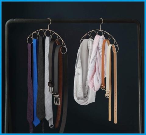 Grucce foulard colorata