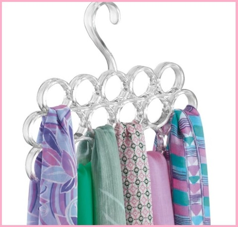 Grucce foulard trasparenti
