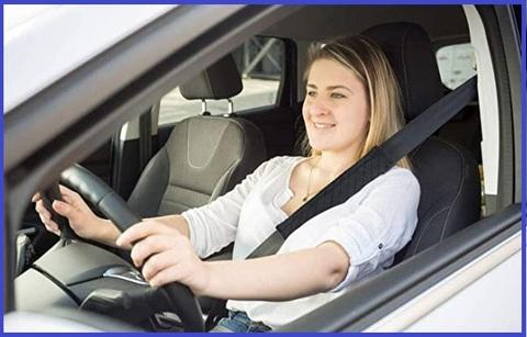 Guaina cintura sicurezza auto