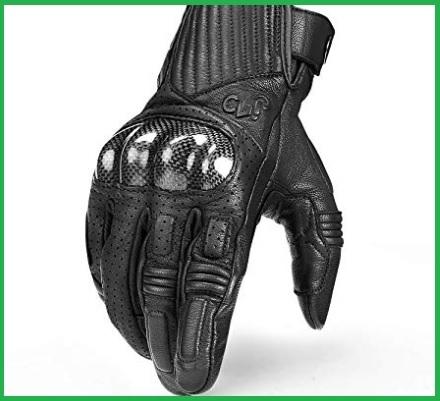 Guanti moto invernali carbonio touchscreen