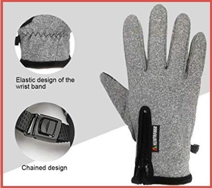 Guanti moto invernali touchscreen