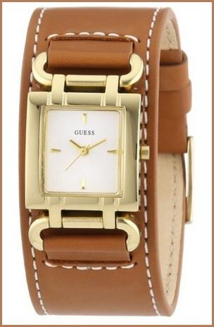 Orologio bracciale da donna guess con quadrante in oro