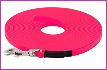 Guinzaglio da addestramento 5 metri rosa