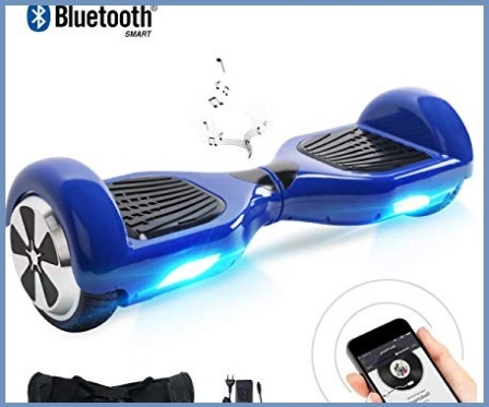 Hoverboard bluetooth con led