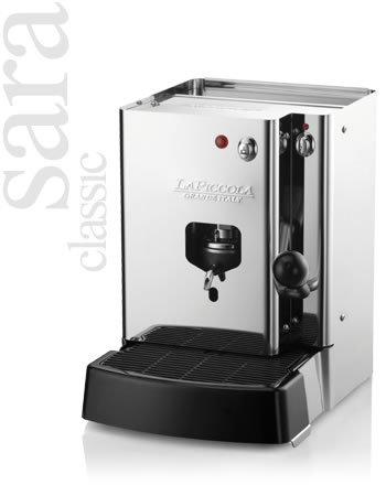 Sara classic macchina caffè design lineare ed essenziale