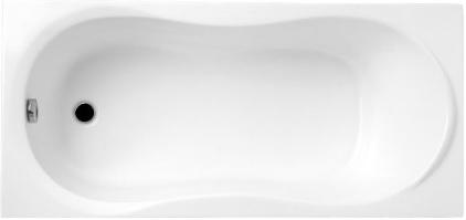 Vasca rettangolare classica acrilica