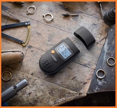 Igrometro digitale per legno