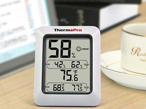 Igrometro Digitale Display