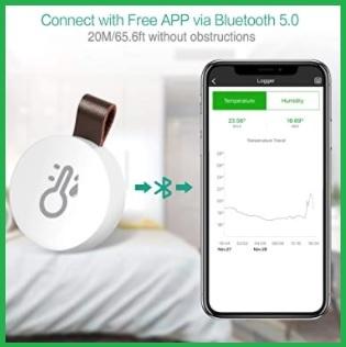 Igrometro Bluetooth Esterno