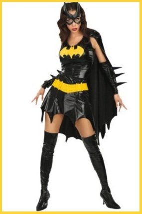 Costumi carnevale supereroi donne