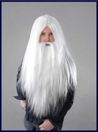 Parrucche carnevale uomo