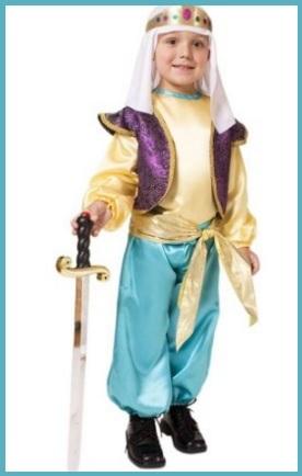 Costumi carnevale disney aladdin